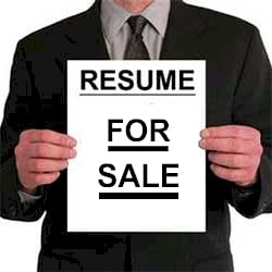 resume-for-sale