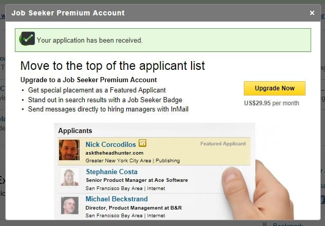 how to delete jobs applied for on linkedin