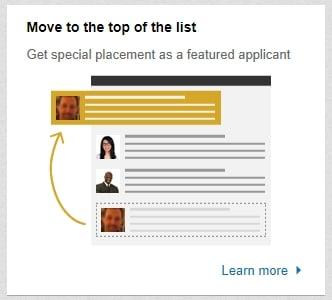 linkedin-top-of-list